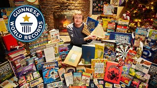 Largest Collection of Guinness World Records Annuals- Guinness World Records