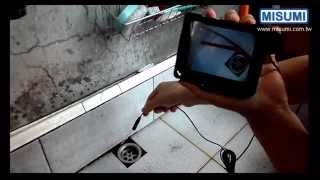 MO T9566L, Endoskop Inspection Camera with LED light, perfect video