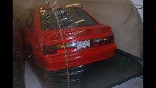 Простоявший всю жизнь в вакуумной капсуле. Ford Mustang Cobra R, 1993г. 19 км.