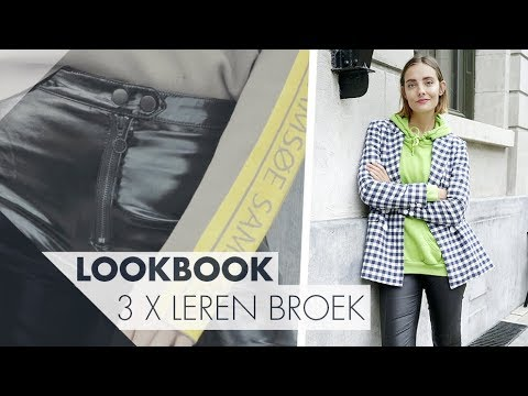 dd8c318a473 3 ways to wear leather pants - polienne