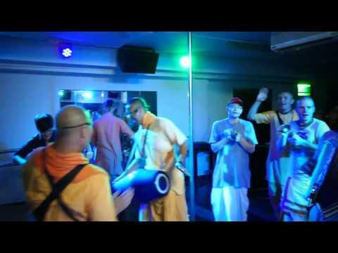 Harinamayatra Nitay Gauranga 2017 In the night  club