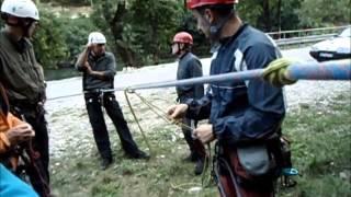 Sveti Bernard  - Tehnika podizanja palog penjača