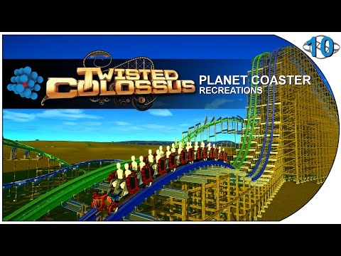 Planet Coaster - Recreations 11 - Twisted Colossus - Six Flags Magic Mountain - USA