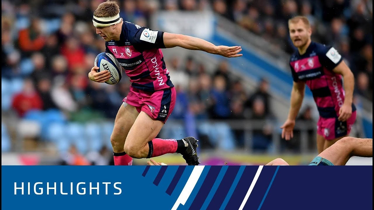 23d4b7be7a5 Exeter Chiefs v Gloucester Rugby (P2) - Highlights 08.12.2018 - YouTube