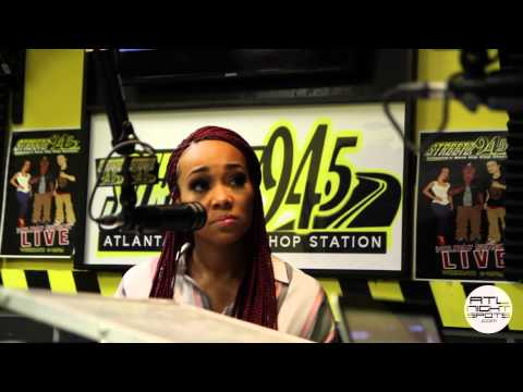 Monica Talks Code Red, Ciara, Acting & More On Streetz 94.5 Jazzy Mcbee Show