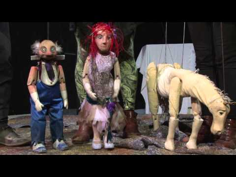 A new pantomime takes the stage at Norwich Puppet Theatre