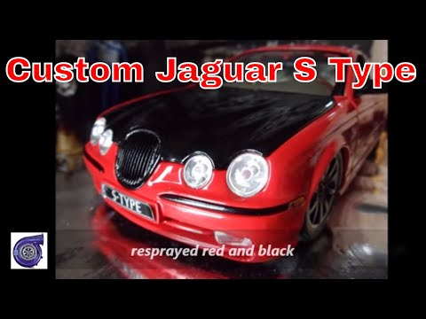 jaguar s type model 1 18 scale tuning tuning. Black Bedroom Furniture Sets. Home Design Ideas