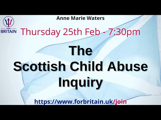 Anne Marie Presents: Scottish Abuse Inquiry