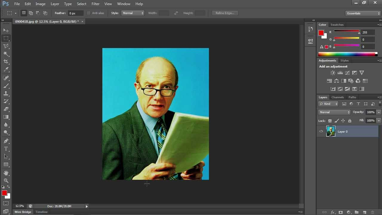 87387db04e How to Flip Layer in Photoshop CS6 - YouTube