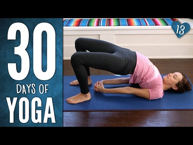 Day 13 - Endurance & Ease - 30 Days Of Yoga