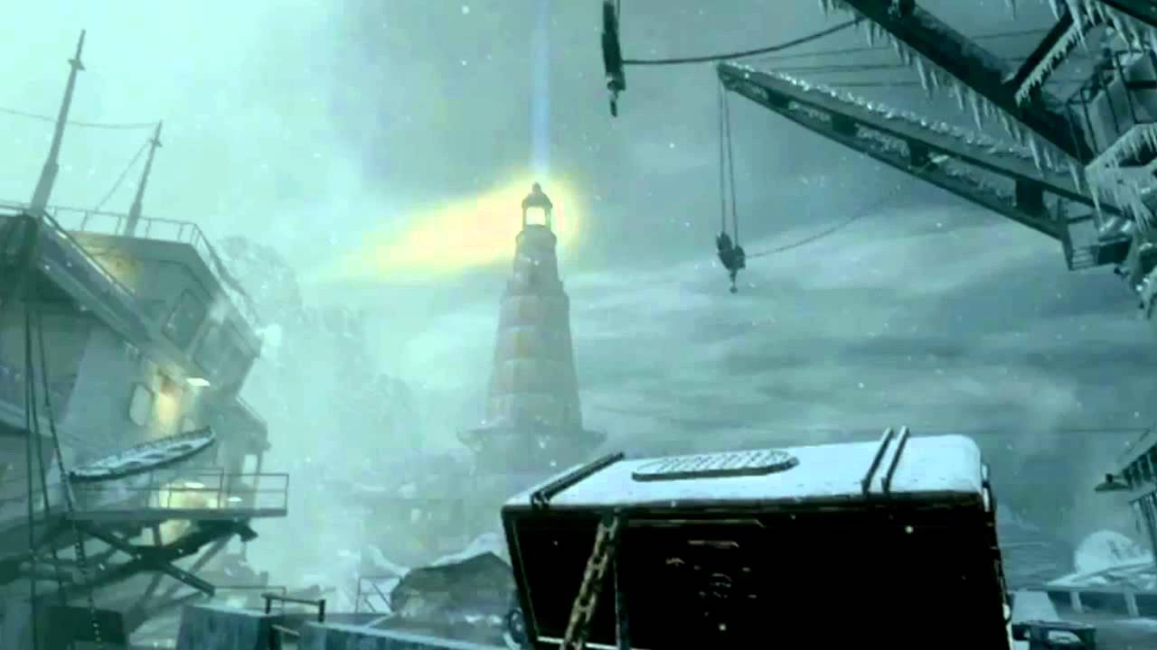 Black Ops Zombies: Call Of The Dead - Boat Map, Lighthouse Map ... on