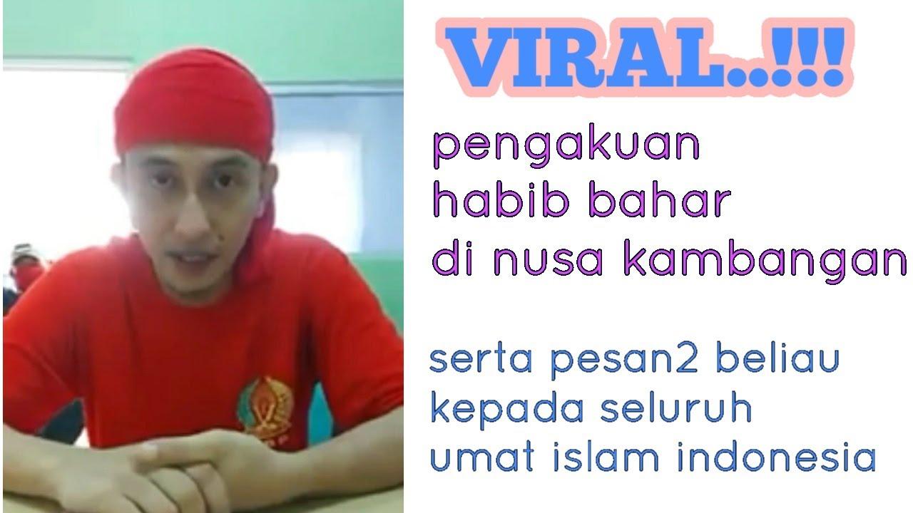 VIRAL!!! pengakuan habib bahar selama di penjara - YouTube