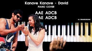 Download lagu Kanave Kanave - David Song Piano Cover with NOTES | AJ Shangarjan | AJS