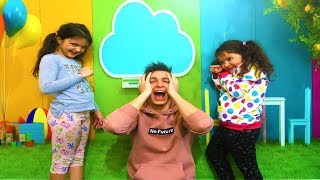 Öykü and Masal new baby sitter is coming! Fun minutes child video