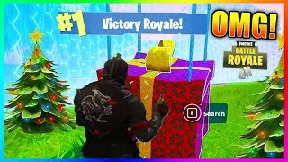 OMG CE TOP 1 INCROYABLE avec la MISE A JOUR DE NOEL - Fortnite Battle Royale Funny Moments !
