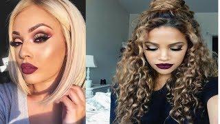 Best Makeup Transformations 2018 ** New Makeup Tutorials Compilation