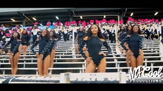 Marching in - Alabama State Marching Band & Sensational Stingettes (2019) | vs Alcorn State [4K]