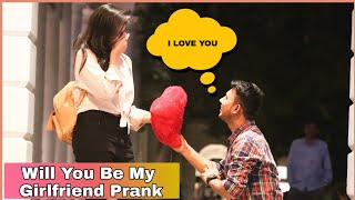 Will You Be My Girlfriend Prank On Cute Girls |AKY Films|