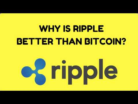 What Advantages Does Ripple Have Over Bitcoin?