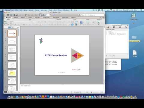 AICP Exam Review Series Planning History and Theory