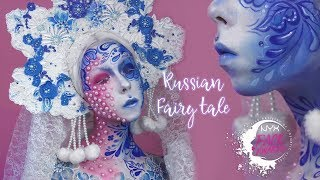 NYX Face Awards Russia 2018 | Russian fairy tale