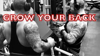 BACK BUILDING WORKOUT | HOW TO BUILD A BIGGER BACK