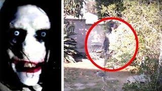 5 Creepypasta likova uhvaćenih u stvarnom životu !