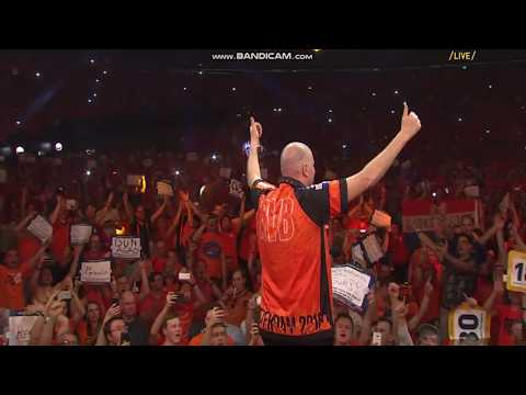 Walk on Raymond Van Barneveld Premiere league Rotterdam 2018