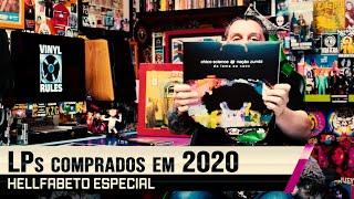 LPs comprados em 2020 - HELLFABETO