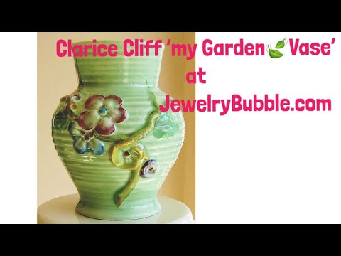 Clarice Cliff Pottery Vases At Jewelry Bubble Youtube