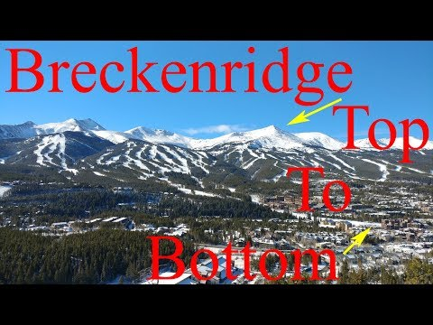 Breckenridge Ski Tour: Top to Bottom in 3.8 Miles!