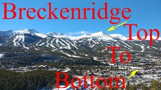 Skiing in Colorado - Breckenridge Ski Tour: Top to Bottom in 3.8 Miles!