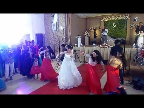 Anglo Indian wedding- rocking bride