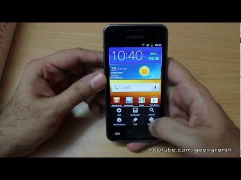 Samsung Galaxy S Advance in-depth review