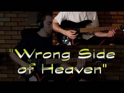 Five Finger Death Punch - Wrong Side of Heaven (Guitar Cover) - YouTube