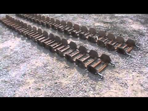 Grouser 147f Series 12 X 16 5 Steel Skid Steer Tracks For Bobcat For