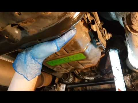Range Rover L322 - How to service a auto gearbox on a range rover L322 PART  2