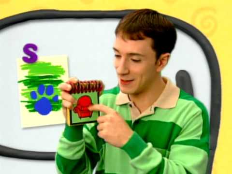 how to draw blue from blues clues