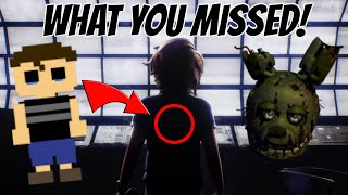 FNAF SECURITY BREACH TRAILER - EVERYTHING YOU MISSED