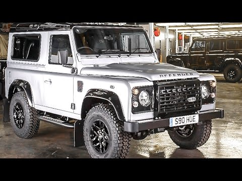 Land Rover Defender Final Series 2015 One Off 2 Millionth Land Rover