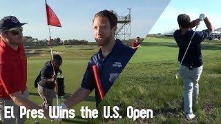 El Pres Wins the U.S. Open