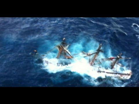 Hurricane Sandy Rescue: HMS Bounty Survivors Interview