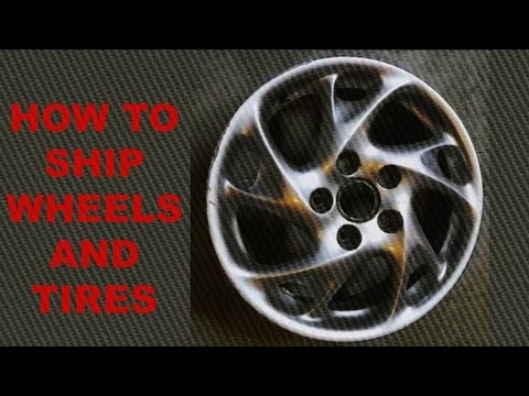 How to pack and ship wheels sold on eBay