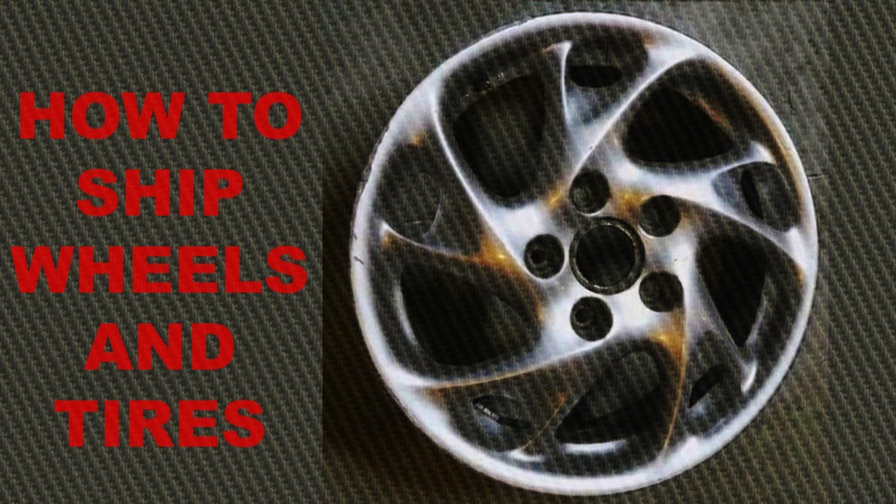 How to pack and ship wheels sold on eBay  YouTube