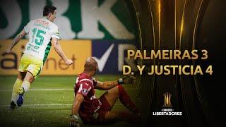Palmeiras vs. Defensa y Justicia [3-4]   RESUMEN   Fecha 5   CONMEBOL Libertadores 2021