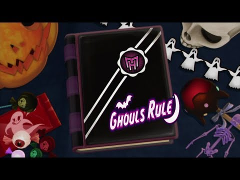 Opening   Monster High Ghouls Rule