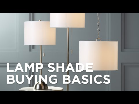 Lamp Shades - How To Buy A Lamp Shade - Lamp Shade Size - Lamps Plus