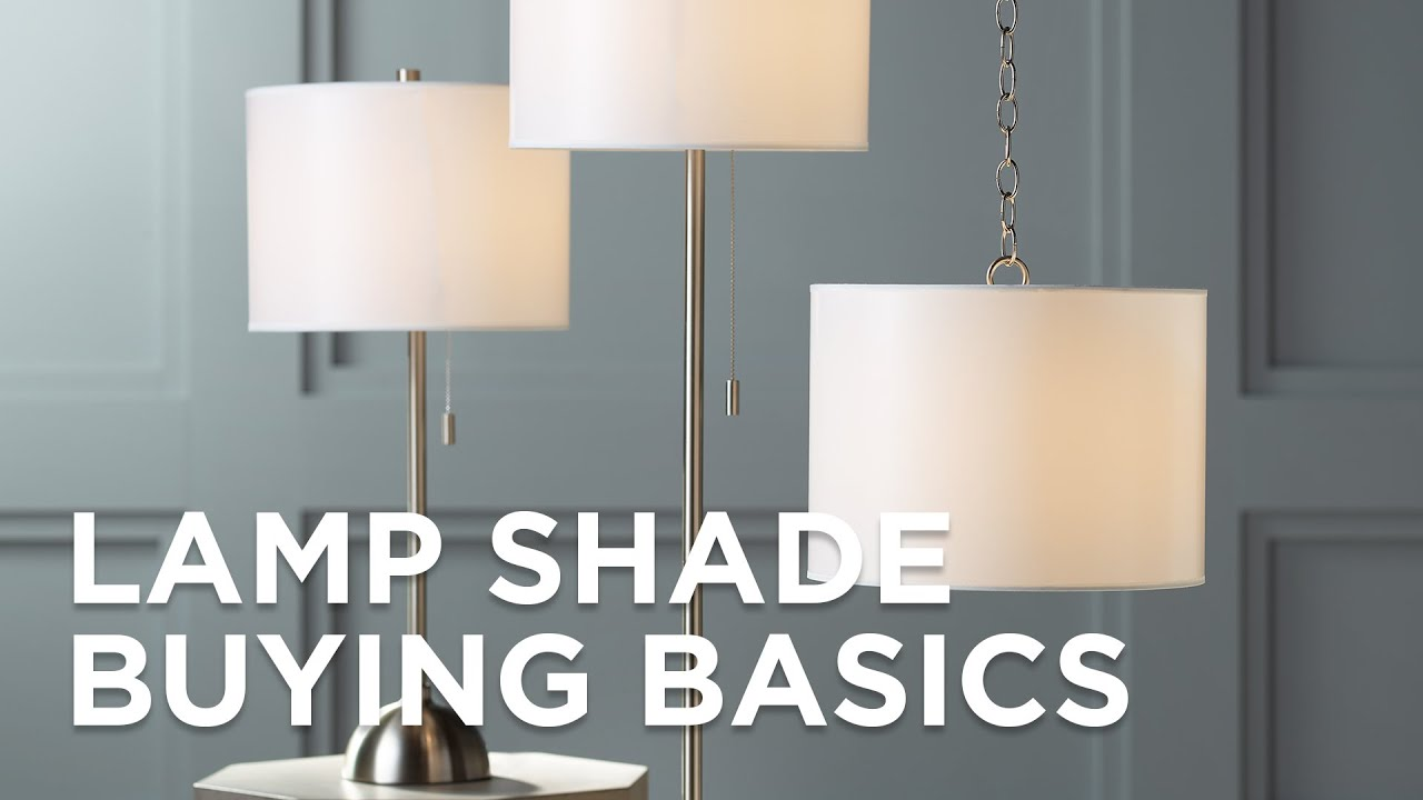 Lamp Shades   How To Buy A Lamp Shade   Lamp Shade Size   Lamps Plus