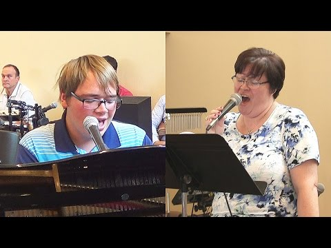 """O The Blood"" duet by Heidi Otterness and Adam Smith"