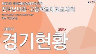 [경기현황]제32회 문화체육관광부장관기 전국남녀중·고등…